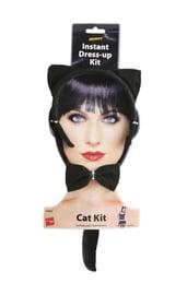 Чёрный набор кошки