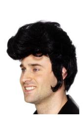 Чёрный парик рок звезды