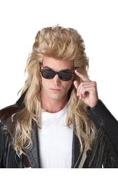 Светлый рок парик