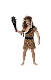 Леопардовый костюм пещерного человека