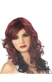 Красный парик рок лисицы