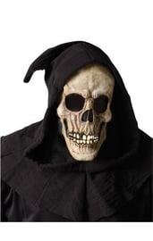 Маска черепа в капюшоне