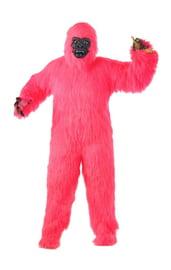 Костюм розовой гориллы