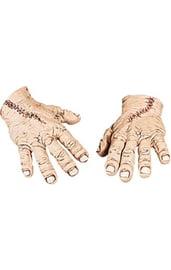Руки монстра со швами