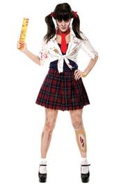 Костюм очаровательной школьницы зомби