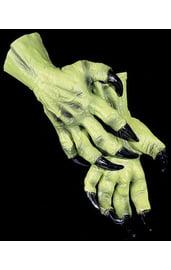 Зеленые руки ведьмы
