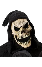 Маска черепа с открытым ртом