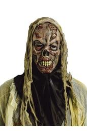 Маска Зомби-Черепа на Хэллоуин
