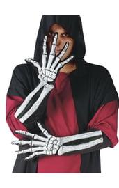 Реалистичные перчатки скелета