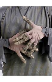 Серые перчатки зомби