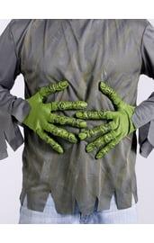 Зелёные перчатки зомби