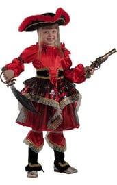 Детский костюм пиратки-озорницы