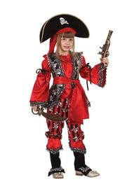 Детский костюм пиратки-разбойницы