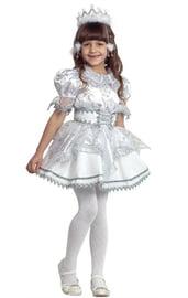 Детский костюм искрящейся Снежинки