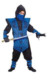Голубой костюм Ниндзя