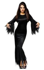 Костюм черной элегантной ведьмы