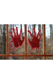 Кровавые отпечатки 3-D руки