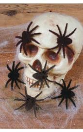 Маленькие волосатые пауки 6 шт