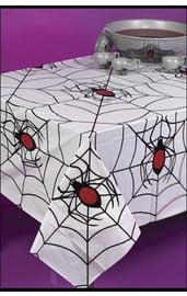 Белая скатерть на Хэллоуин