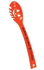Оранжевая ложка для очистки тыквы
