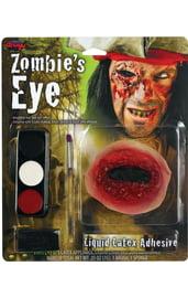 Набор для грима зомби с кровавым глазом