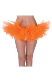 Ярко-оранжевая Туту юбка