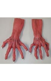 Красные руки монстра