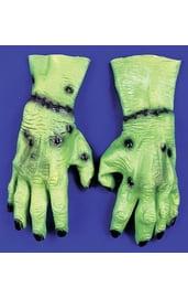 Зелёные раненые руки