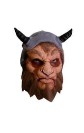 Латексная маска Сатир
