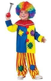 Детский костюм заводного клоуна