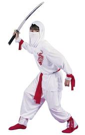 Детский костюм белого Ниндзи