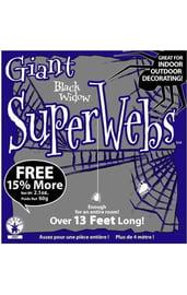 Паутина с пауками 60 грамм