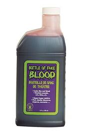 Искусственная кровь в бутылке 480 мл