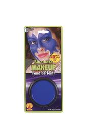 Синий грим для макияжа