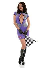 Секси костюм гонщицы