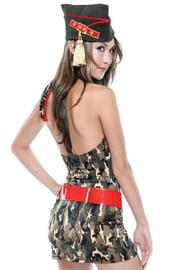Женский армейский костюм