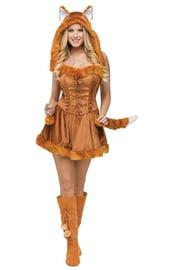 Костюм леди лисы