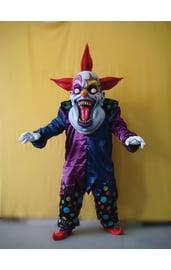 Тёмный костюм жуткого клоуна
