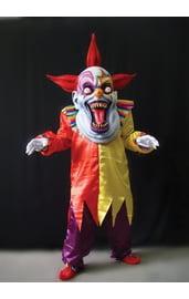 Красочный костюм жуткого клоуна