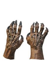 Коричневые руки обортня