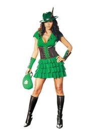 Зеленый костюм Леди Робин Гуд