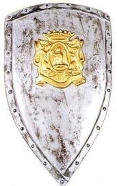 Щит с золотым гербом