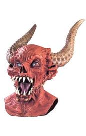 Жуткая маска демона