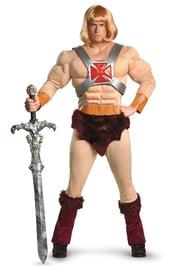 Костюм мускулистого рыцаря