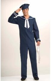 Синий костюм моряка