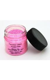 Пастельно-розовые блестки