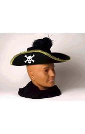 Пиратская шляпа с черепом