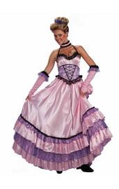 Костюм испанской яркой танцовщицы