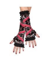 Детские перчатки с молнией