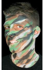 Камуфляжный макияж